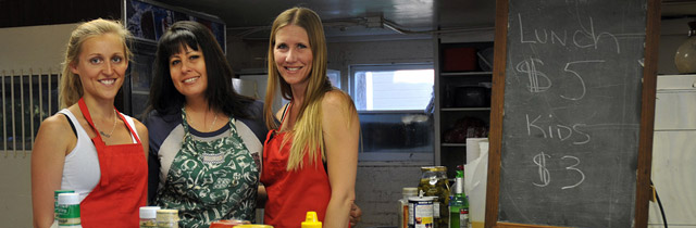 Hauli Huvila Volunteers & Kitchen Manager Minna Walters