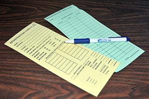 Hauli Huvila registration cards