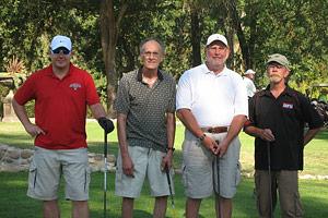 Golfing at Sherwood Forest Golf Club