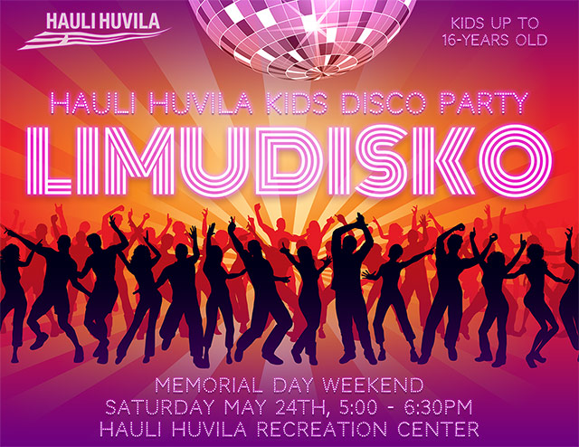 Limudisko - Hauli Huvila Kids' Disco Party