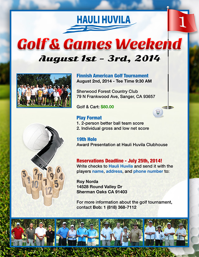 2014 Golf & Games Weekend